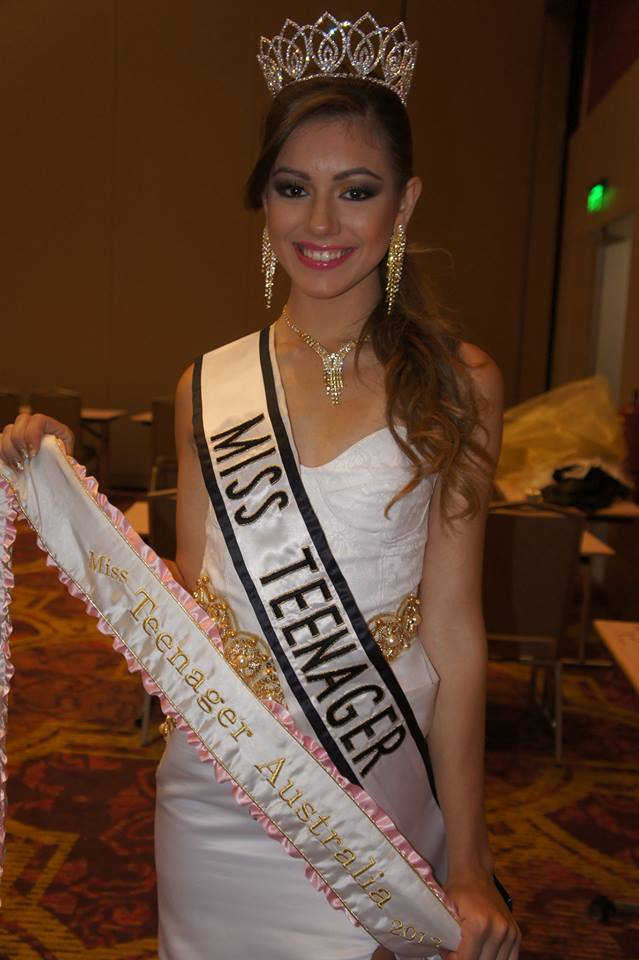 Miss Teenager Universe 2013 Jasmine Stringer