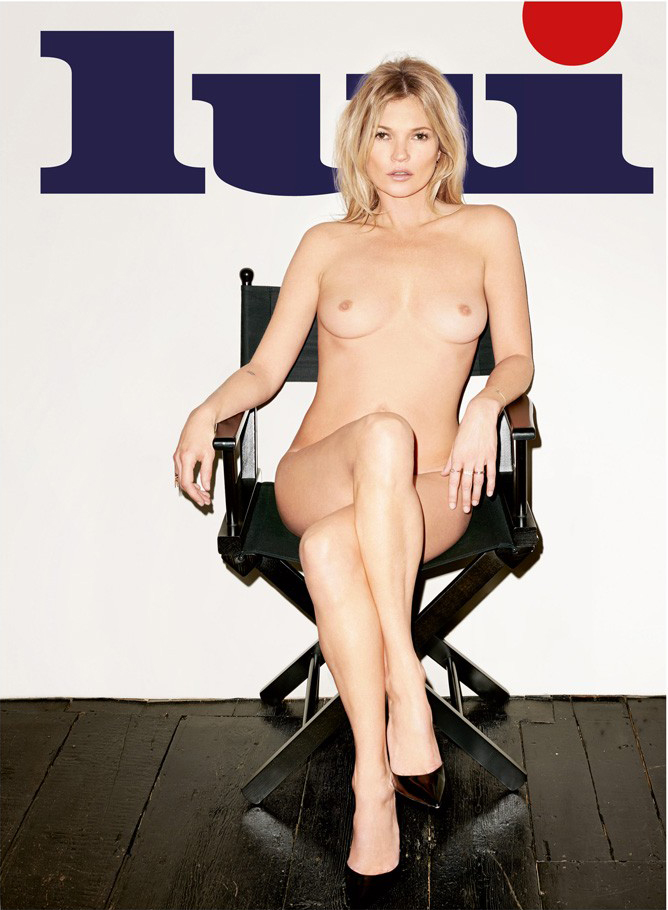 Lui Magazine Cover Kate Moss 7