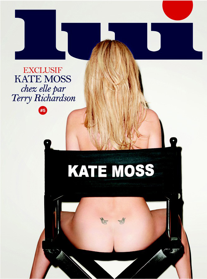 Lui Magazine Cover Kate Moss a