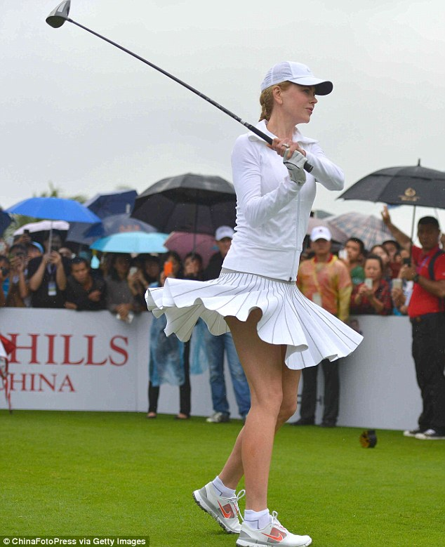 Mission Hills World Celebrity Pro-Am Nicole Kidman 1