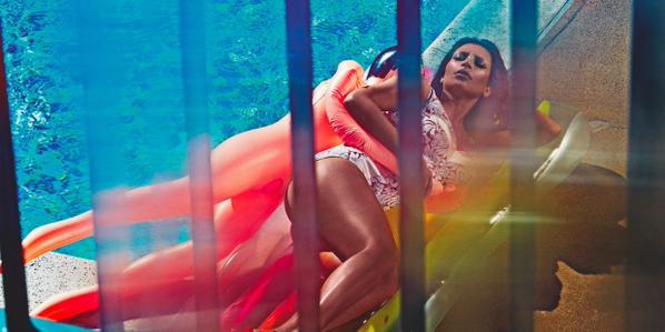 Kim Kardashian Love Magazine 1