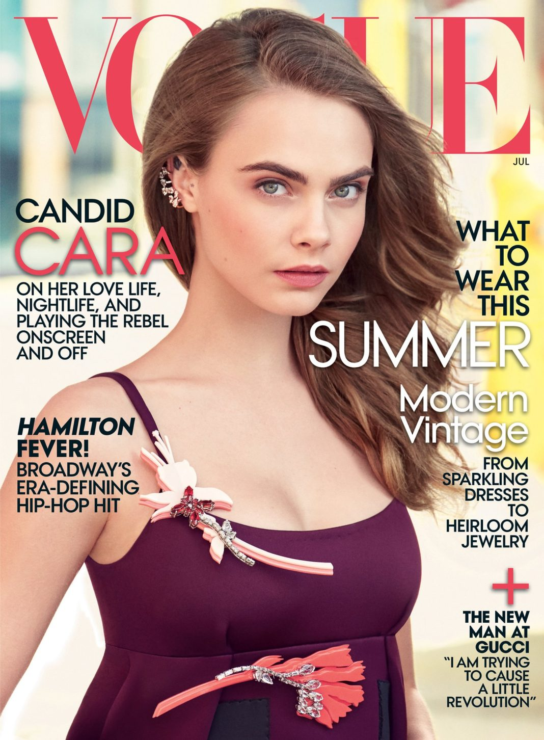 Cara Delevingne Vogue July 2015