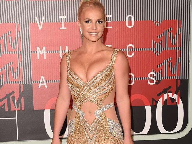 Britney Spears attends 2015 MTV Video Music Awards